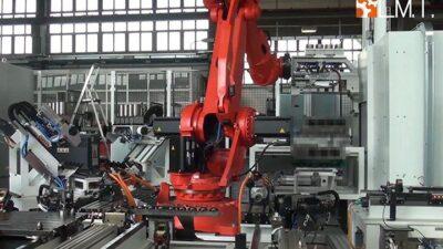 Isola Robotizzata di Inserimento Canne Cilindri